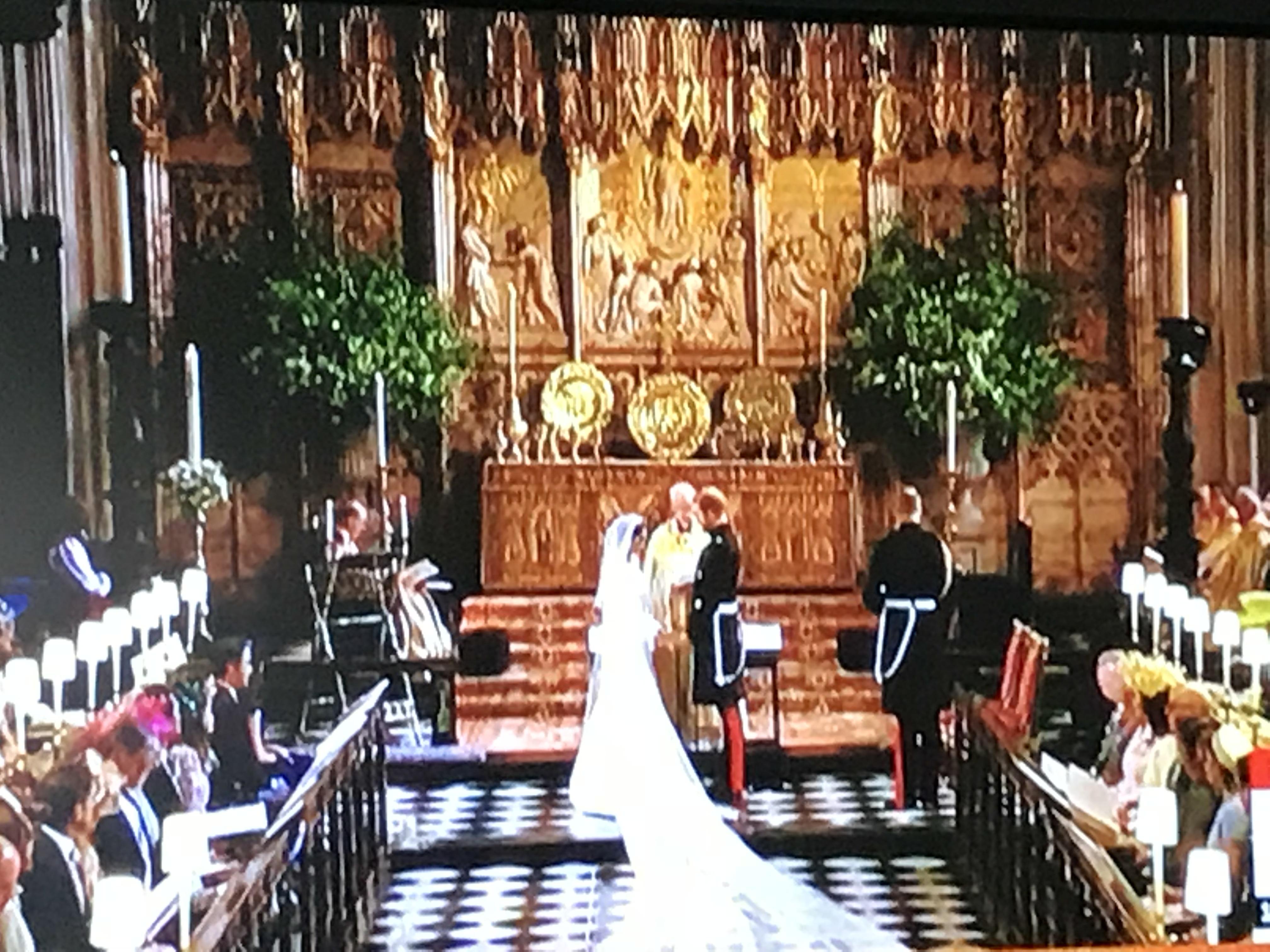 ❤イギリスのヘンリー王子とメーガンさんのロイヤルウエディングの日でした❤
