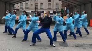 コロナ・バスターズ医療従事者ダンス